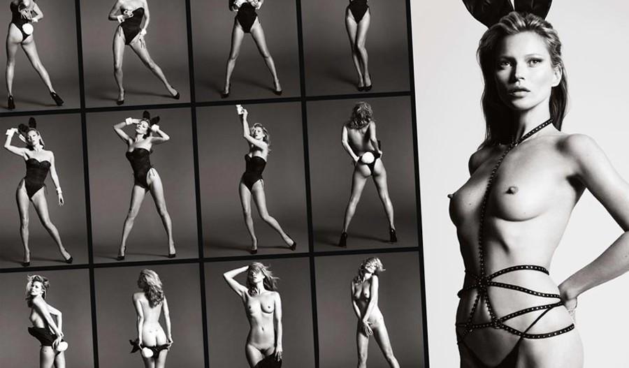 60 Aniversario revista Playboy, fotografías modelo Kate Moss