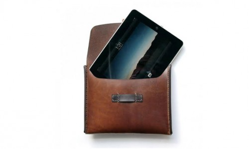 Makr iPad Leather Case