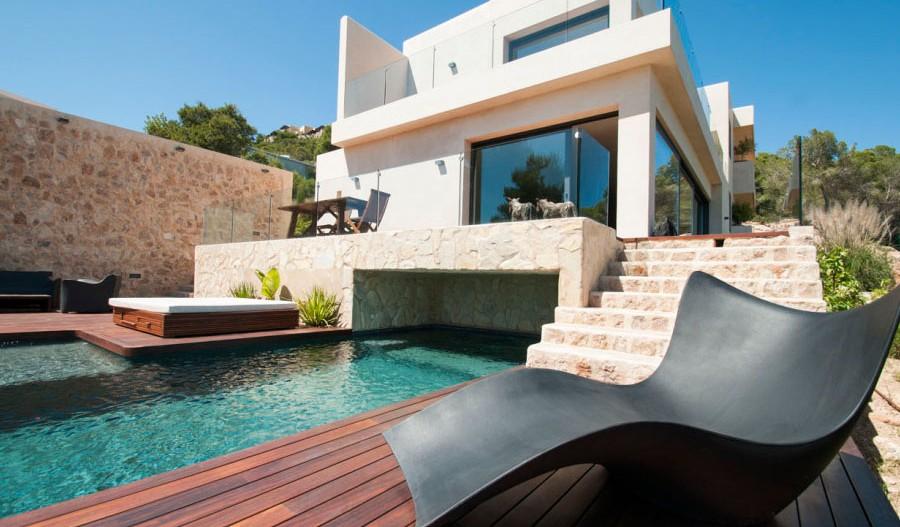 Villa Talamanca, en Ibiza, es una exclusiva casa con cuatro suites