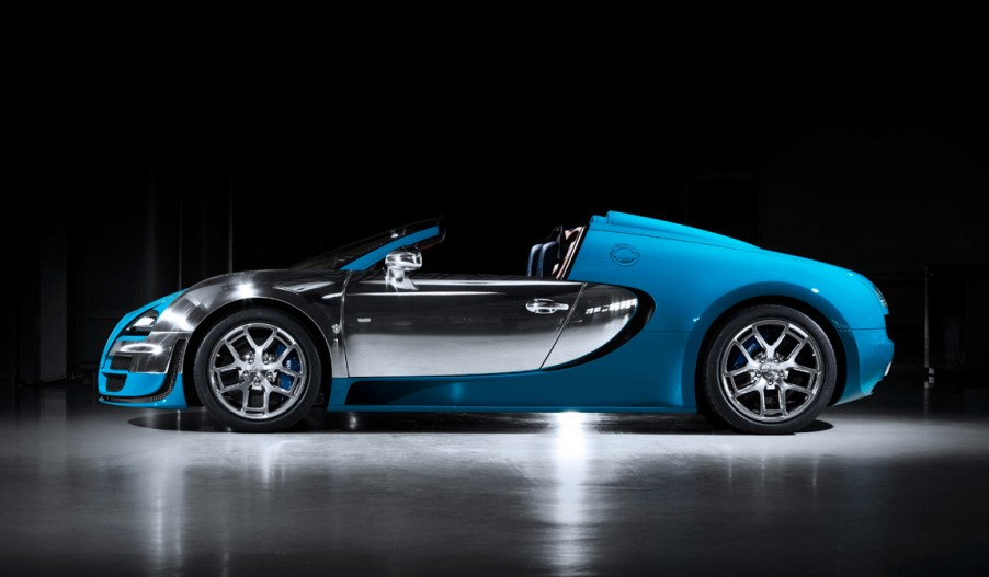 Bugatti Veyron Vitesse, el deportivo de lujo
