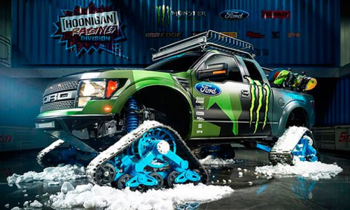 Ken Block Ford F 150 Raptor Trax