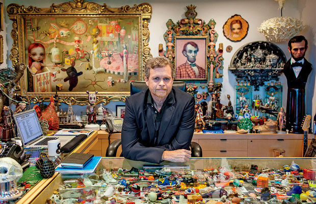 La oficina de Mike Parker