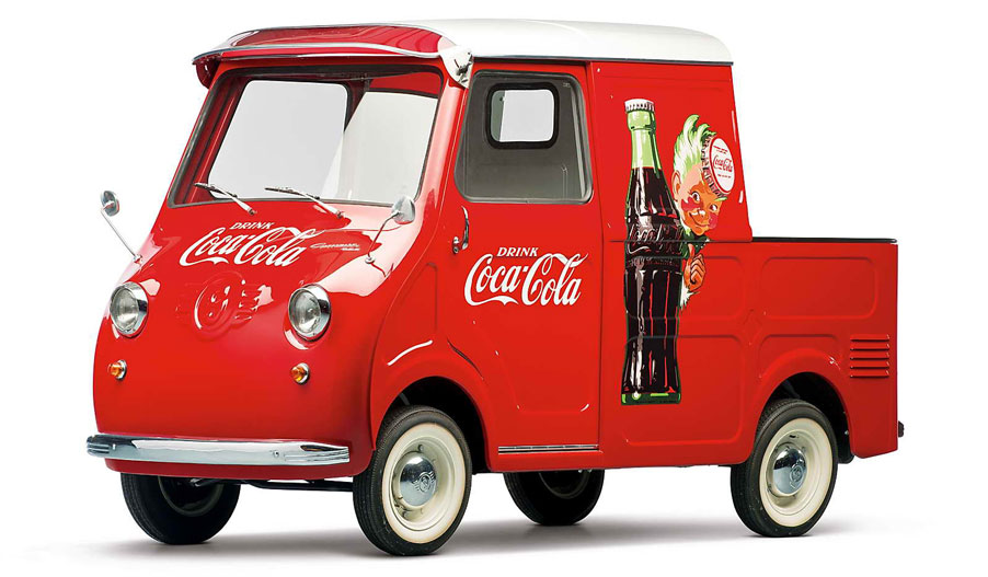 Coca-Cola Goggomobil TL-400 Transporter