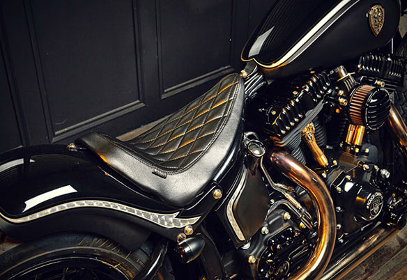 Harley Softail Slim Crowned Stallion
