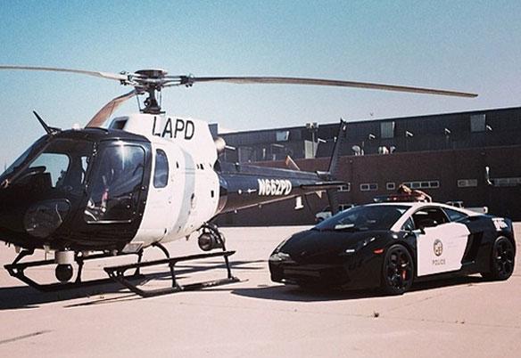 LAPD Lamborghini Gallardo