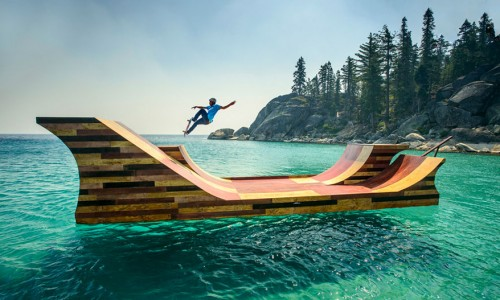 Rampa de Skate Flotante