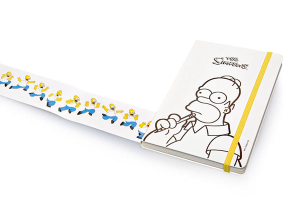 Simpsons Moleskine
