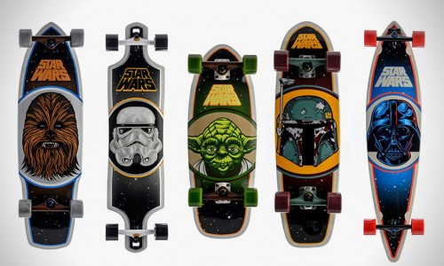 Skateboards Santa Cruz Star Wars