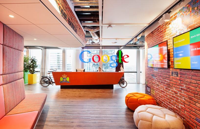 Nuevas Oficinas de Google en Amsterdam