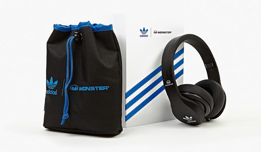 Cascos Adidas Originals by Monster
