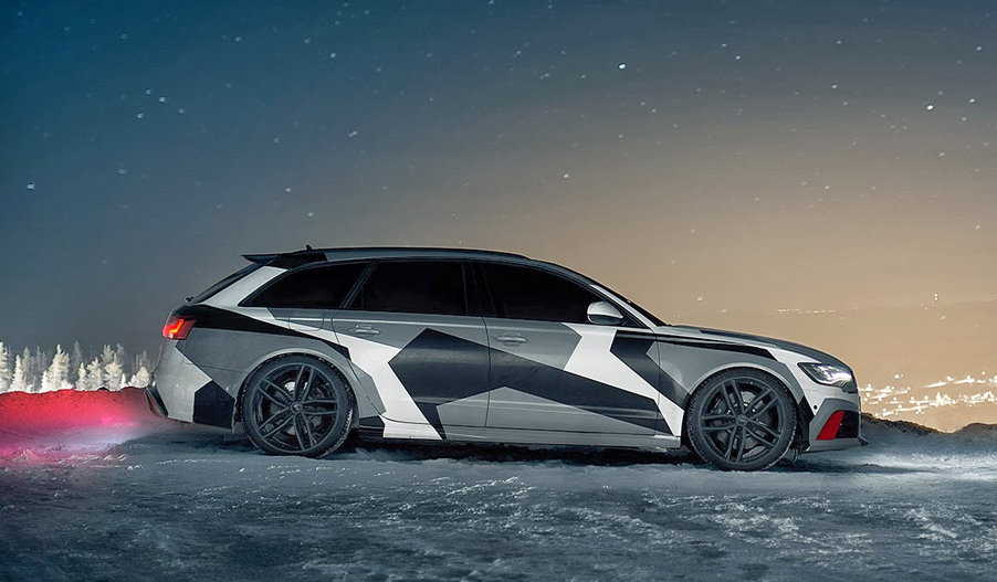 Jon Olsson Audi RS6 2014