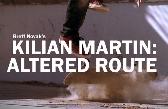 Kilian Martin Altered Route
