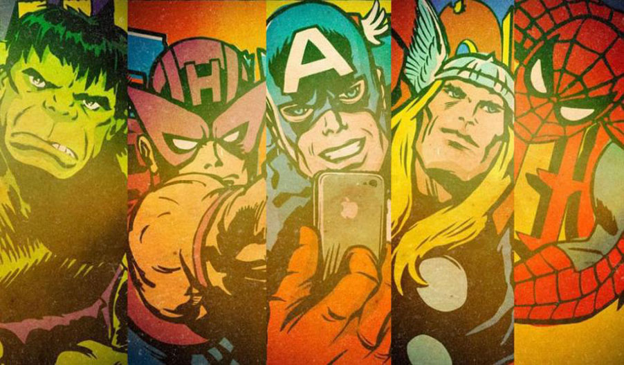 Marvel Selfies