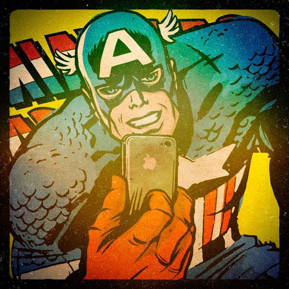 Marvel Selfies