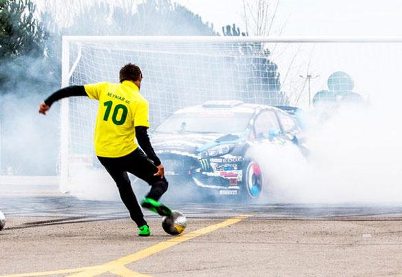 Neymar vs. Ken Block