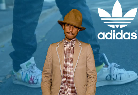 Pharrel Williams y Adidas