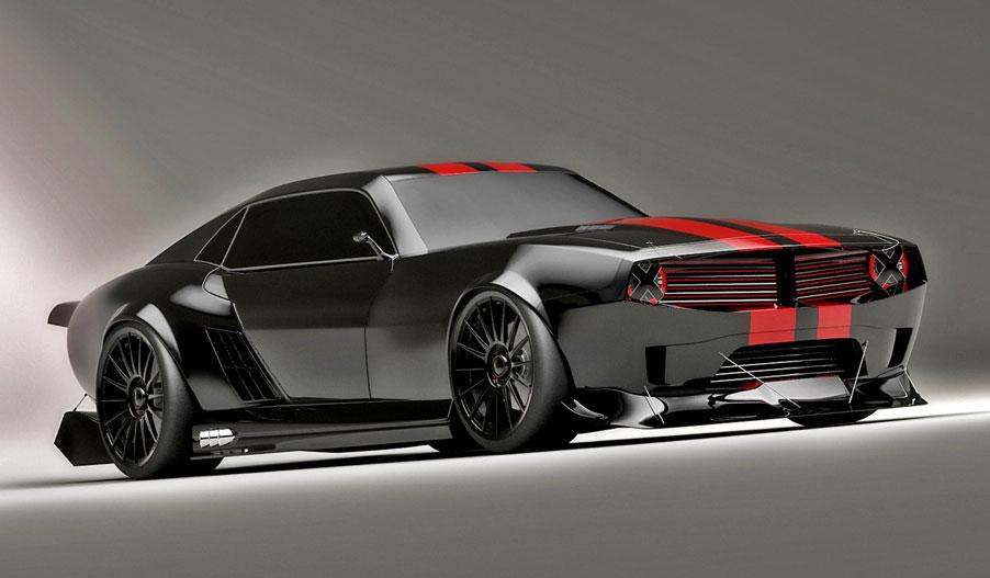 Pontiac Firebird TT Black