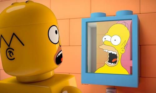Los Simpsons en Lego