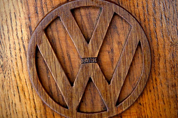 VW Beetle de madera