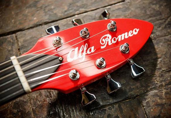 Guitarra Alfa Romeo