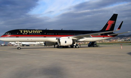 Jet Privado Donald Trump