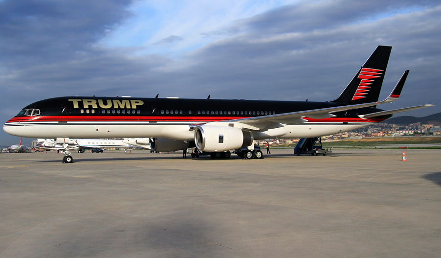 Jet Privado Donald Trump