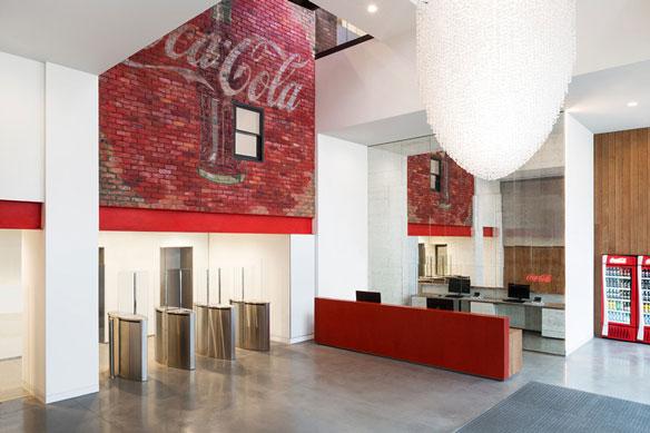 Oficinas coca cola uk a la altura de los grandes for Oficinas de klm