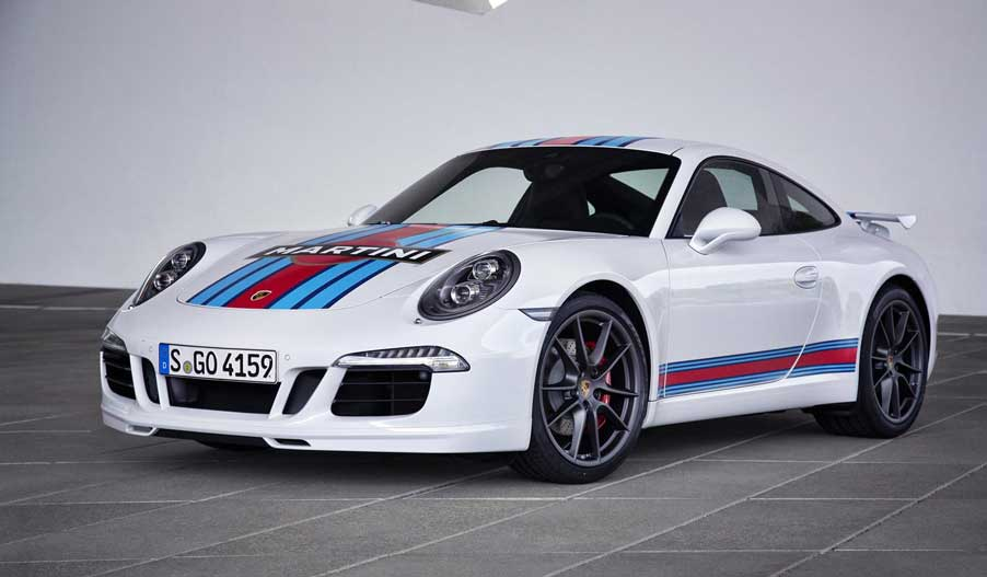 Porsche 911 CarreraS Martini Racing