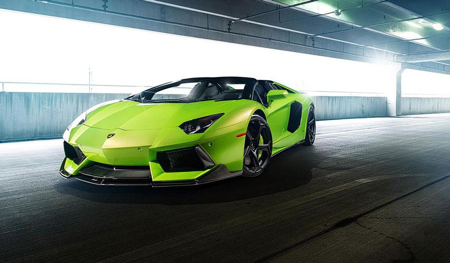 Vorsteiner Lamborghini Aventador Hulk