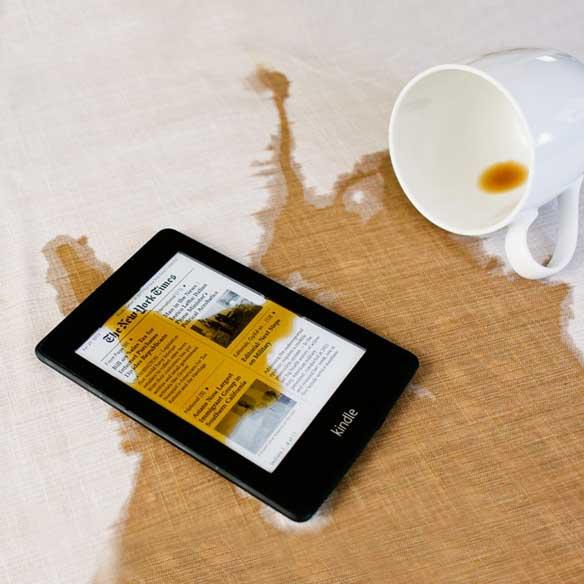 Waterproofed Kindle Paperwhite