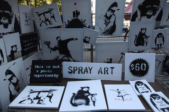 Banksy Artist in Residence