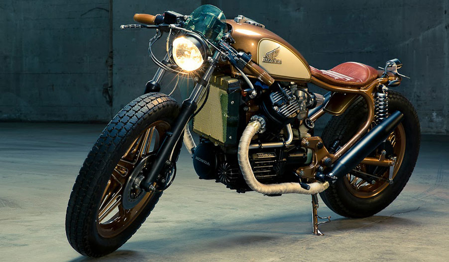 Kingston Customs Honda CX500