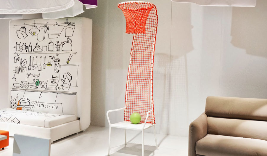 Silla de Diseño Lazy Basketball