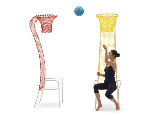 Silla de Diseño Lazy Basketball