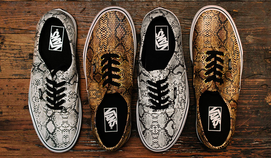 Vans Classics Snake Collection
