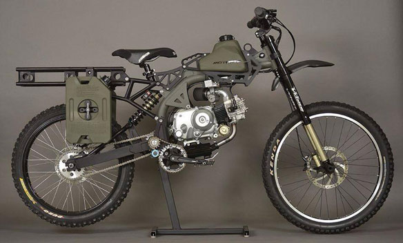Bicicleta Electrica Motoped Survival