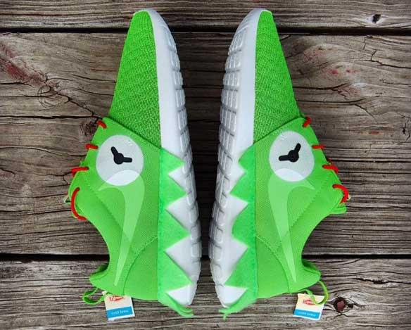 Zapatillas Nike Roshe Run Kermit