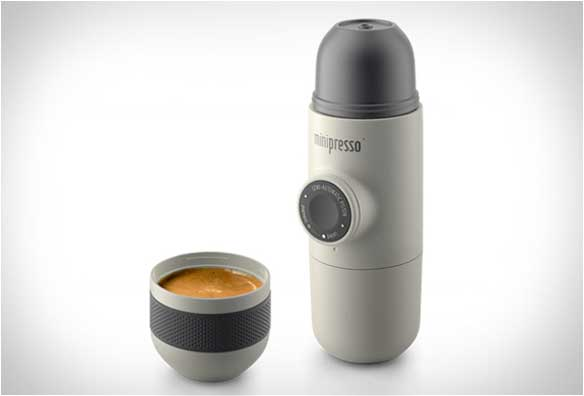 Cafetera Manual Minipresso