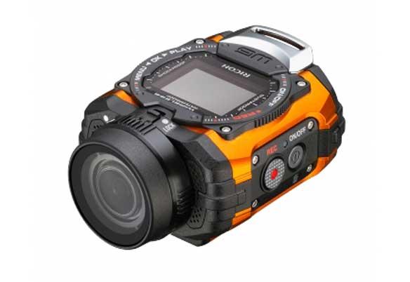 Camara Ricoh WGM1: cámara de acción resistente al agua