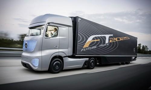 Camion del Futuro: Mercedes-Benz FT2025