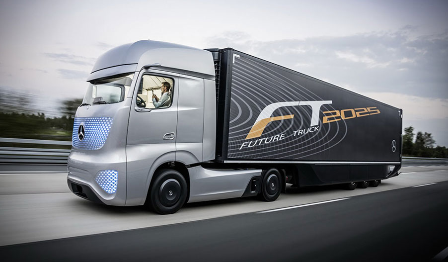 Camion del Futuro: Mercedes-Benz FT2025
