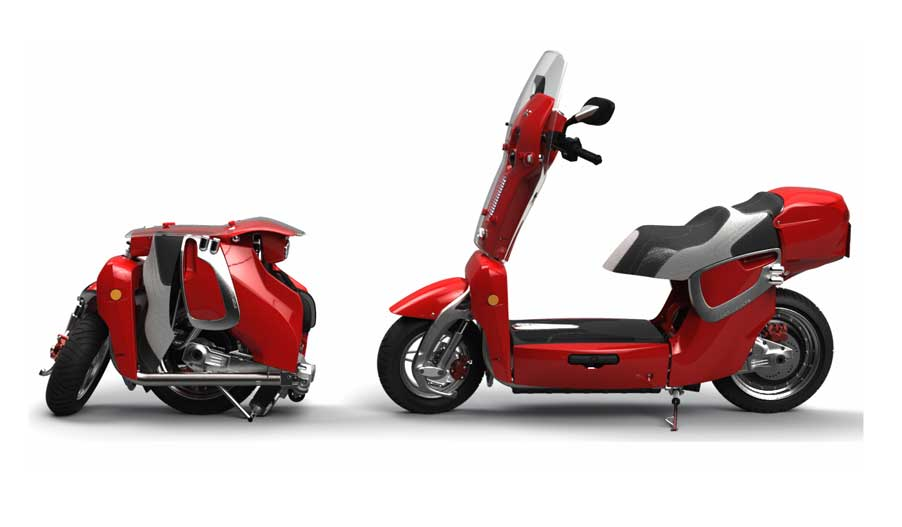 Scooter Electrico Plegable XOR XO2