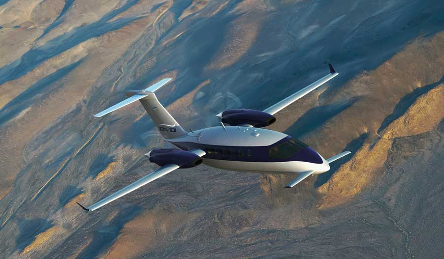 Jet Privado Avanti EVO