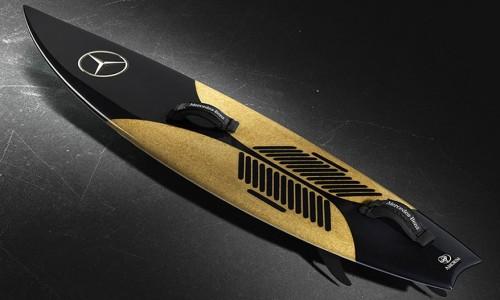 Mercedes-Benz Cork Surfboard