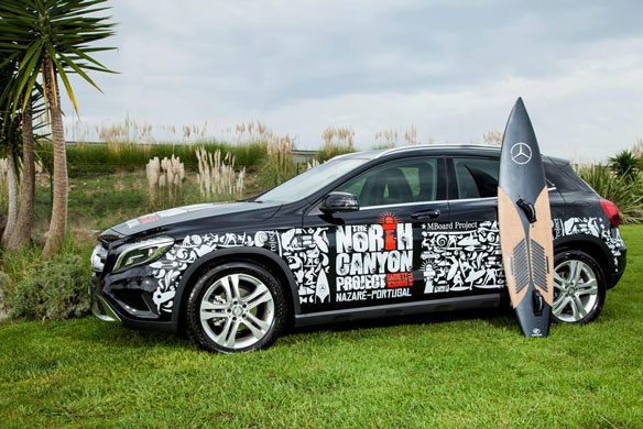 Mercedes-Benz Cork Surfboard