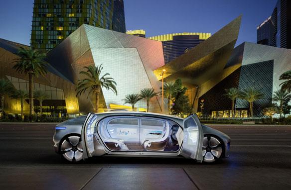 Mercedes Benz F105 Concept
