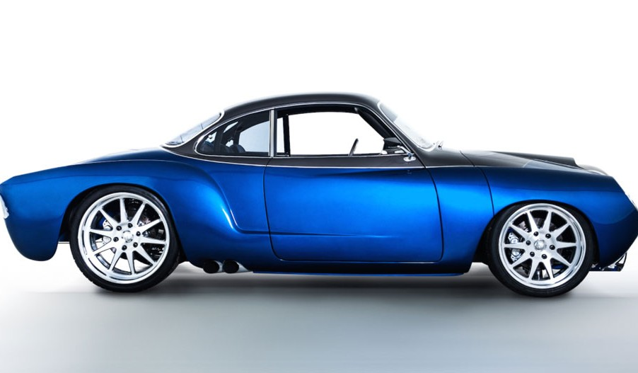 Blue Mamba VW Kharmann-Ghia
