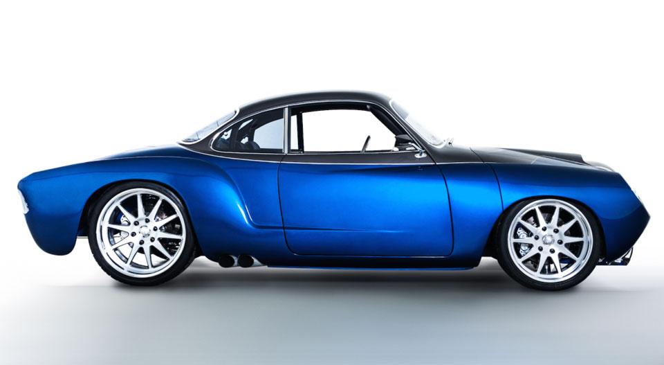 Blue Mamba VW Kharmann-Ghia