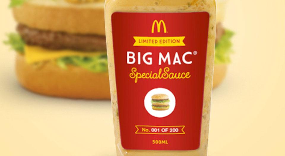 Salsa Especial Big Mac