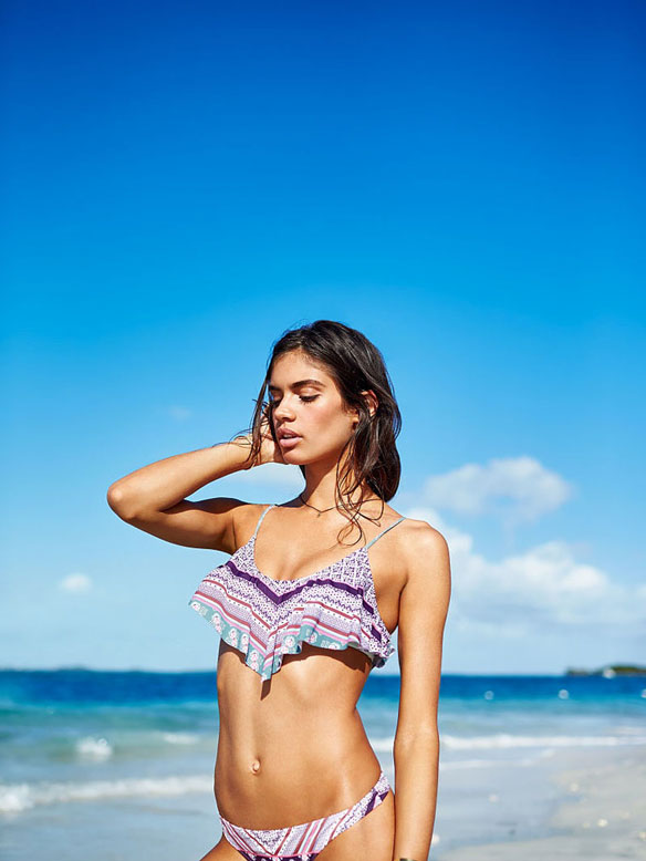 Sara Sampaio x Victoria's Secret 2015